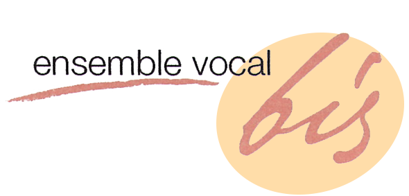 Logo de l'Ensemble Vocal Bis